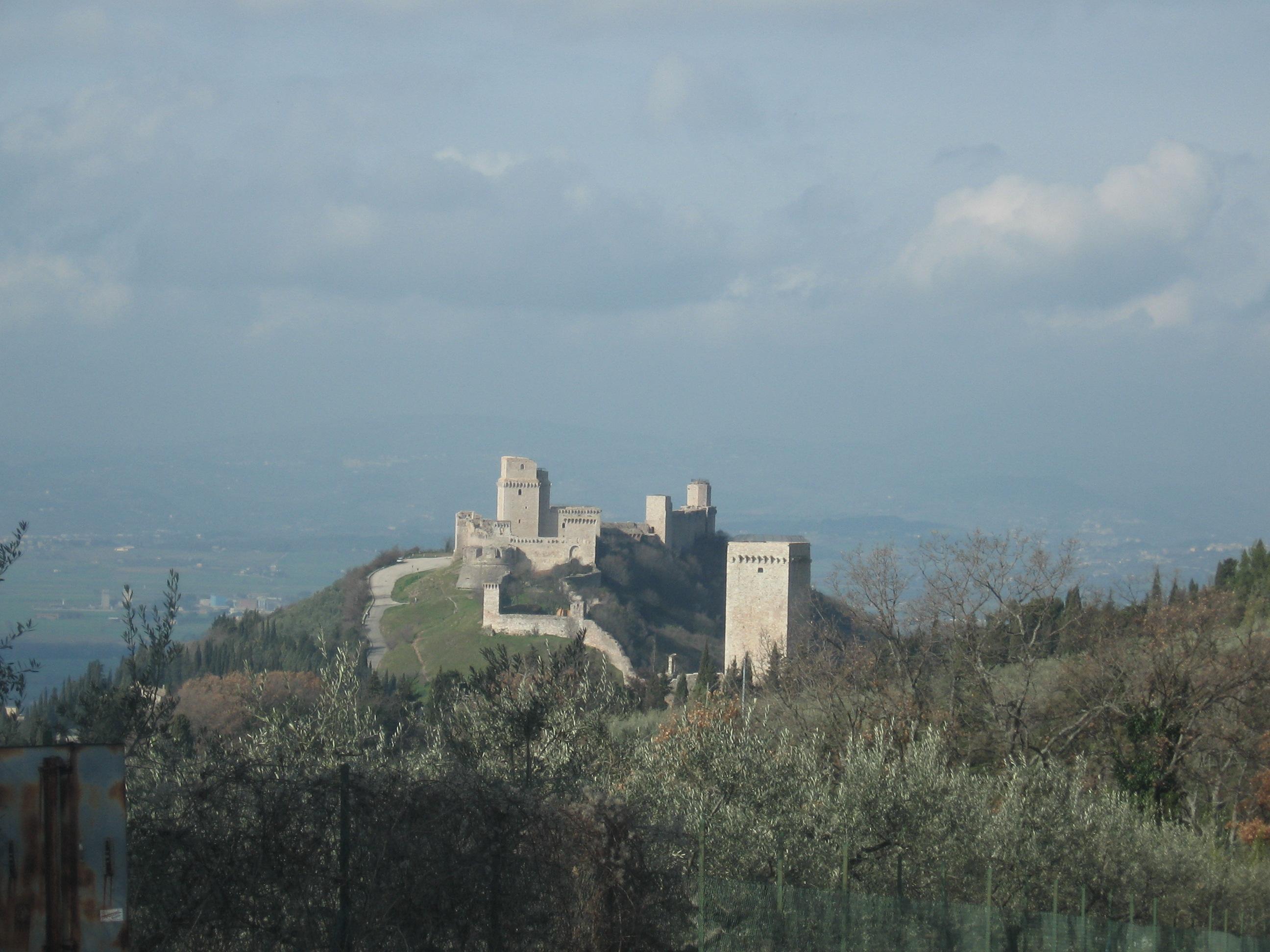 Assisi,La Rocca, San Ruffino,Santa Chiara, Tempio