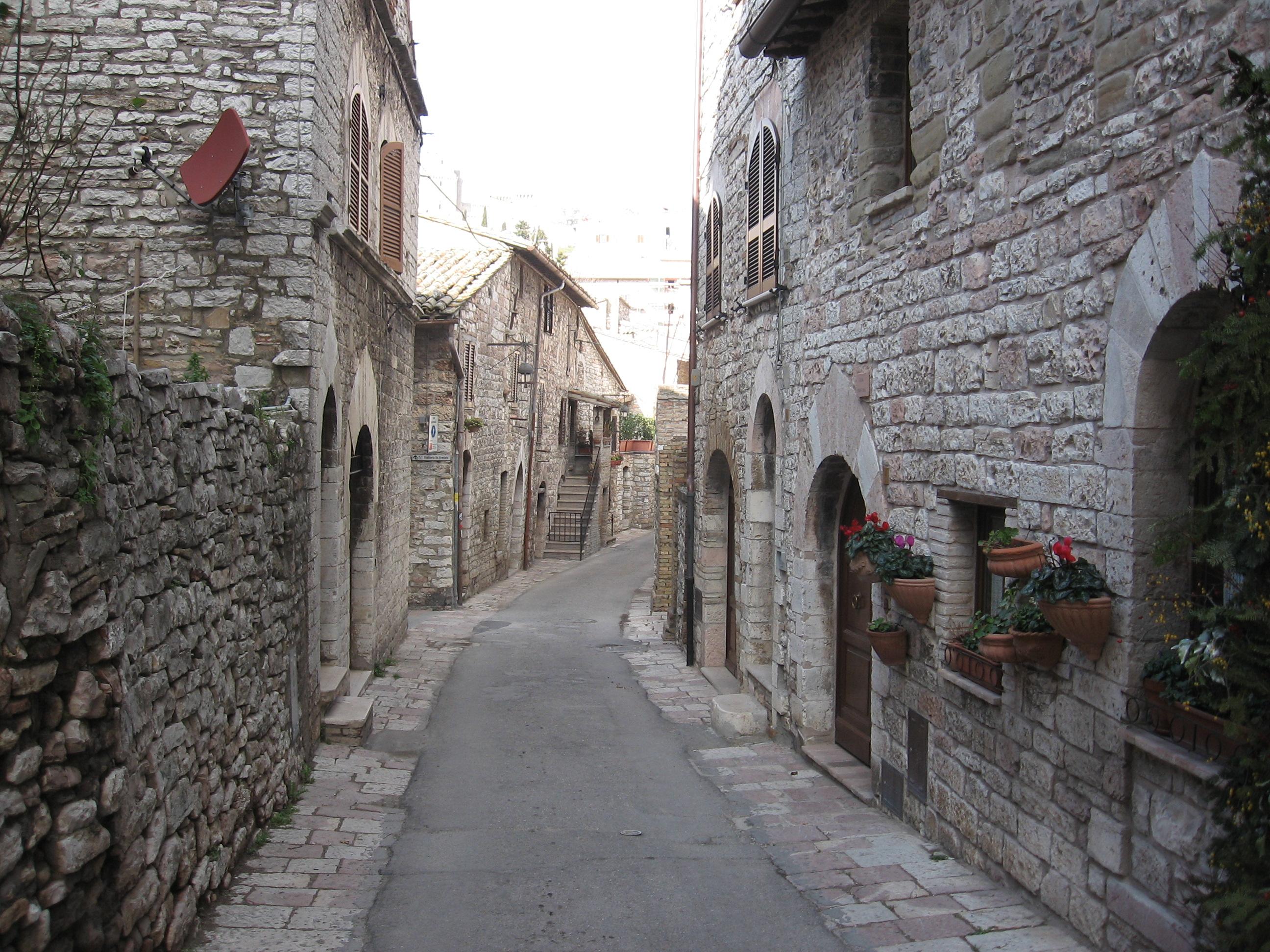 Assisi, Basilica, San Francesco, Santa Chiara, rilassante, frati minori, paesaggio, vista