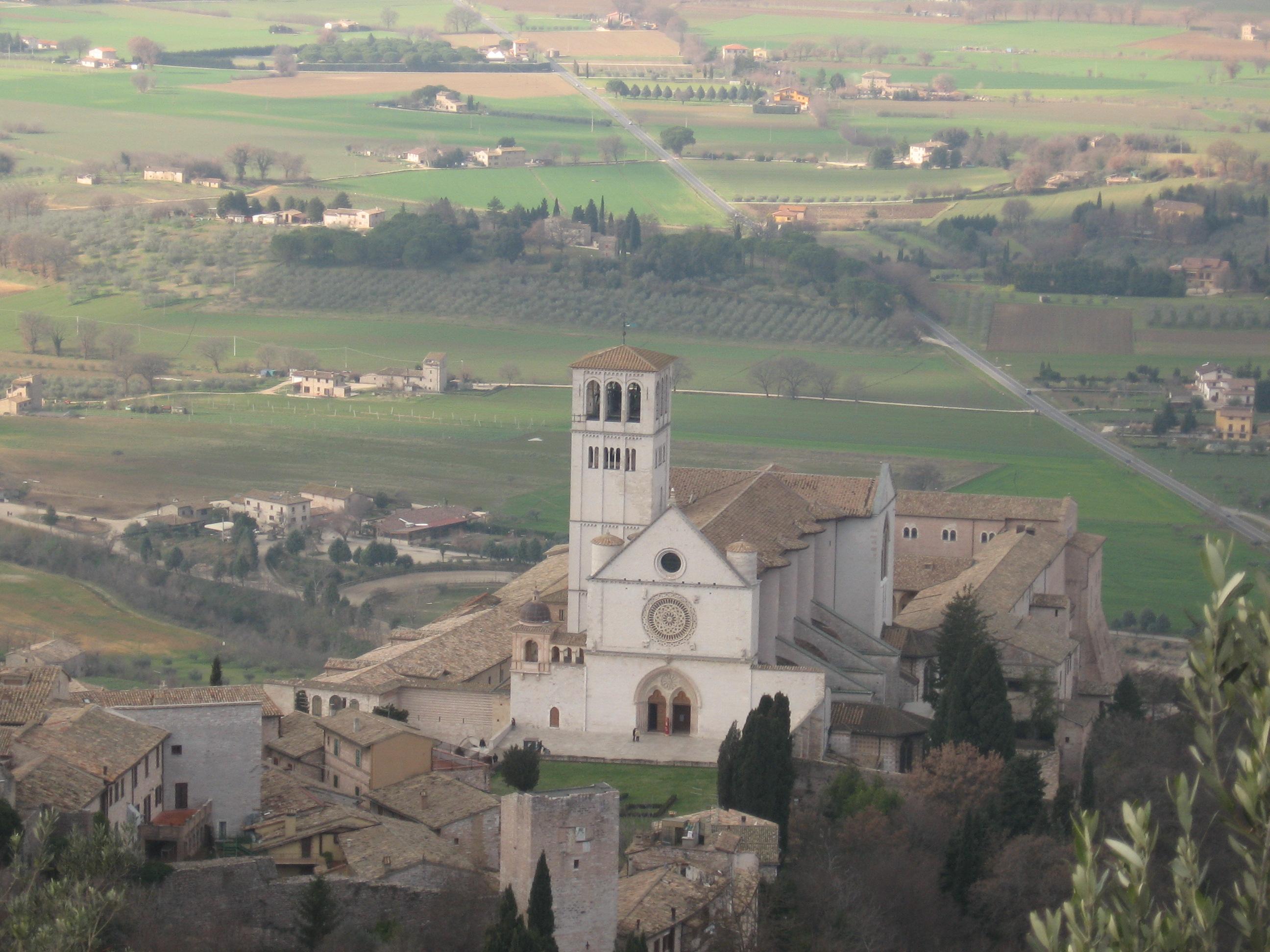 Assisi,Basilica San Francesco,La Rocca, San Ruffino,Santa Chiara, Tempio