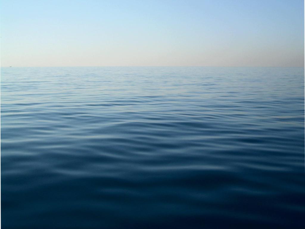 Mare blu, onde, acqua, relax