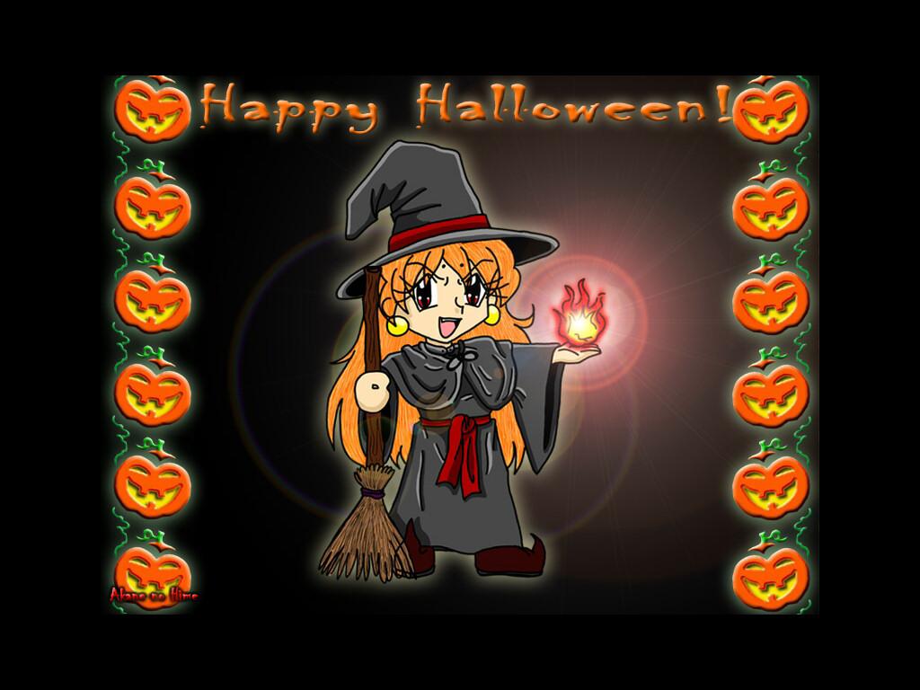 Streghetta, simpatica, witch, halloween