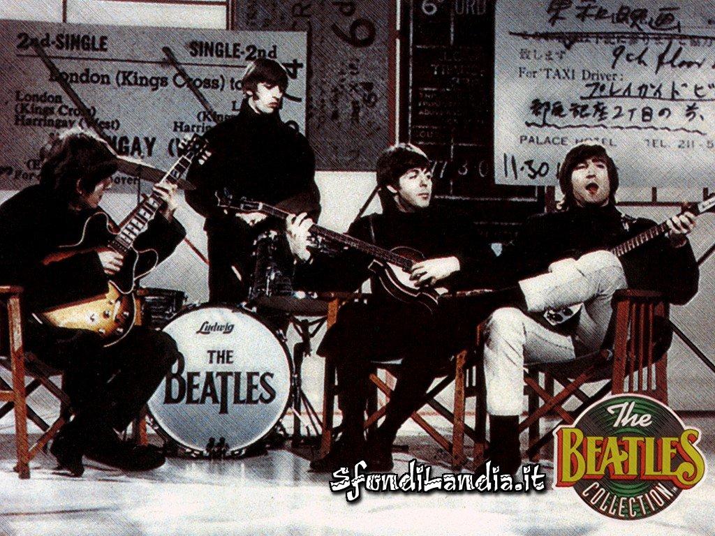 The Beatles, Liverpool, Inghilterra