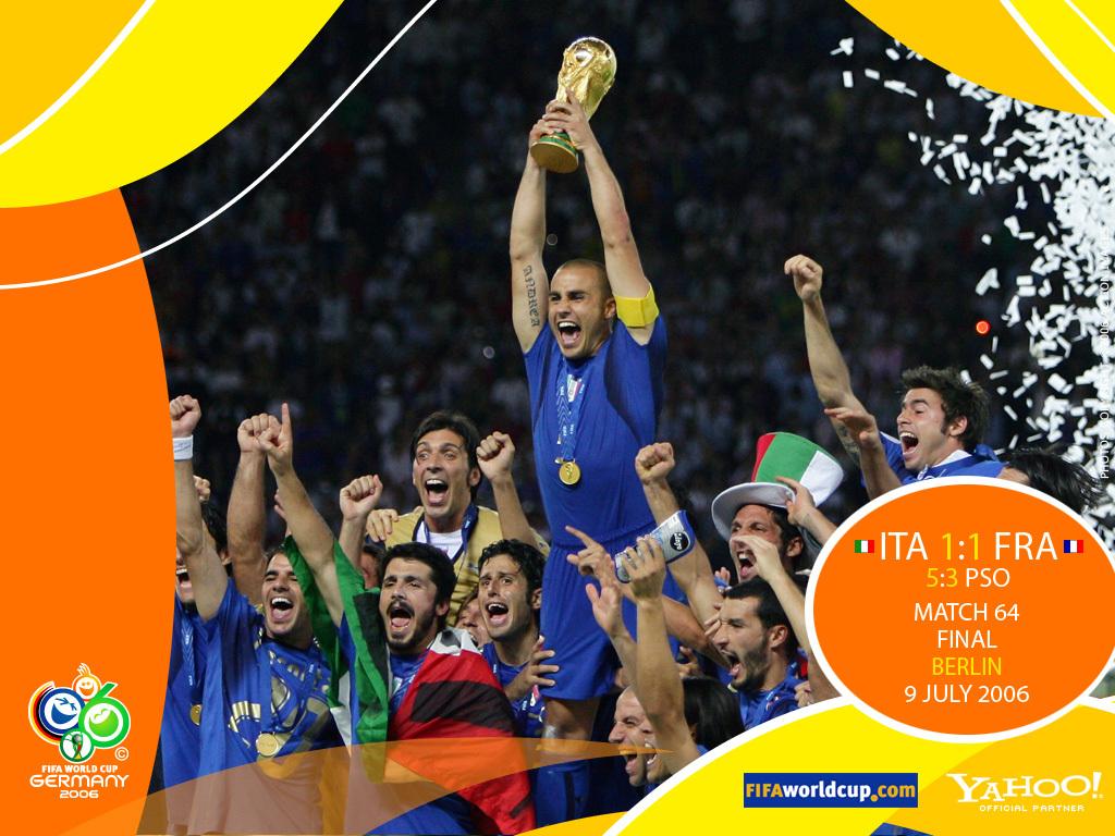 Campioni del Mondo, 2006, coppa, Cannavaro