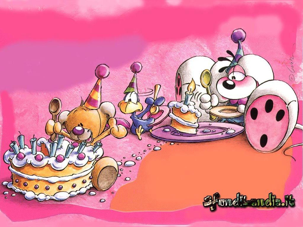 Diddl,Diddlina,Compleanno,auguri,candeline,Romantici,amore,dichiarazione,topolini,teneri,dolcezza