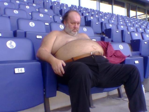 mitico, bitico, galeazzi, giampiero, riposo, stadio, chilo, peso, panza, eccesso, grasso