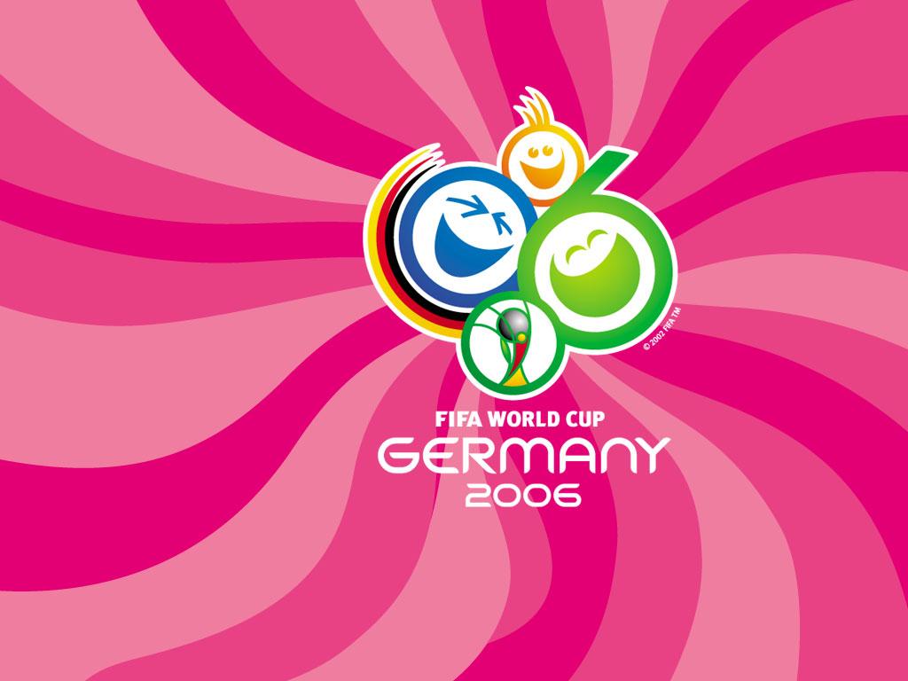 Germania 2006, logo, mondiali, di calcio, pallone